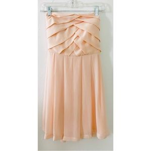 EXPRESS Tube top dress Blush 🌸 color